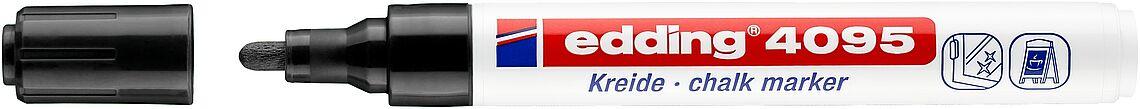 Kreidestift EDDING® 4095 - SCHWARZ -