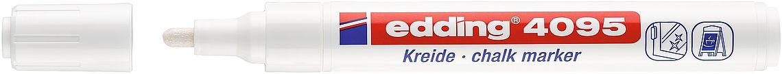 Kreidestift EDDING® 4095 - Weiss -