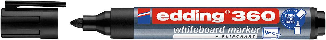 Whiteboardmarker EDDING® 360 - SCHWARZ -
